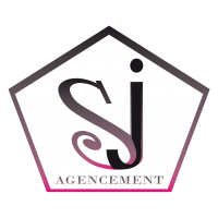 Sj agencement logo web